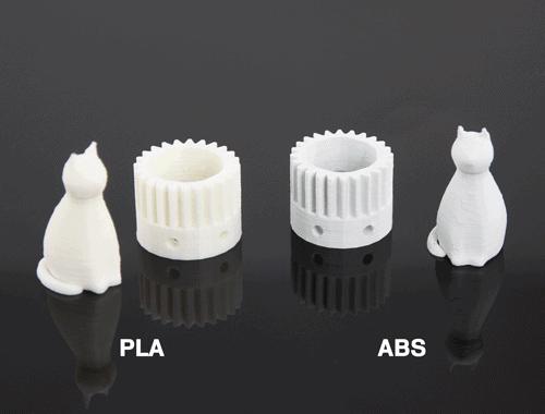 PLA vs ABS - różnice filamentów drukarki 3D grawires, rzeszów printo