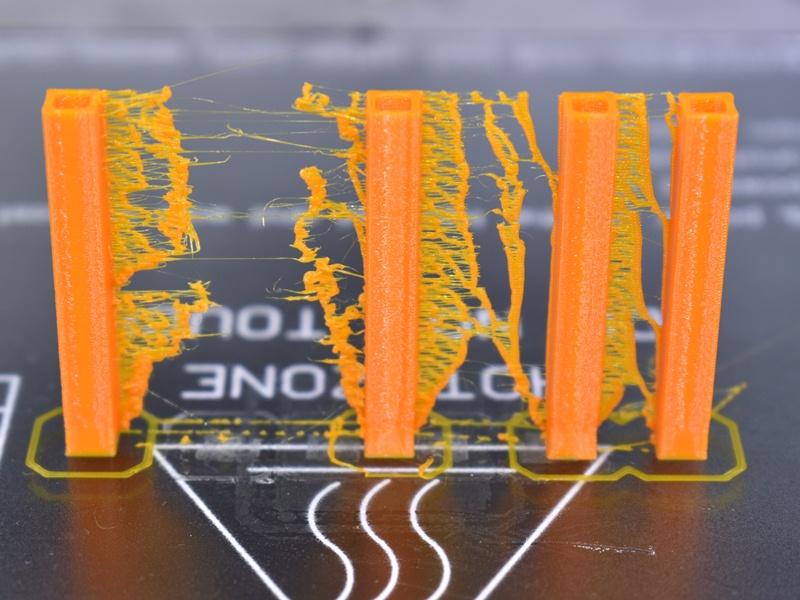 Printo H3 warstwy drukarki 3D