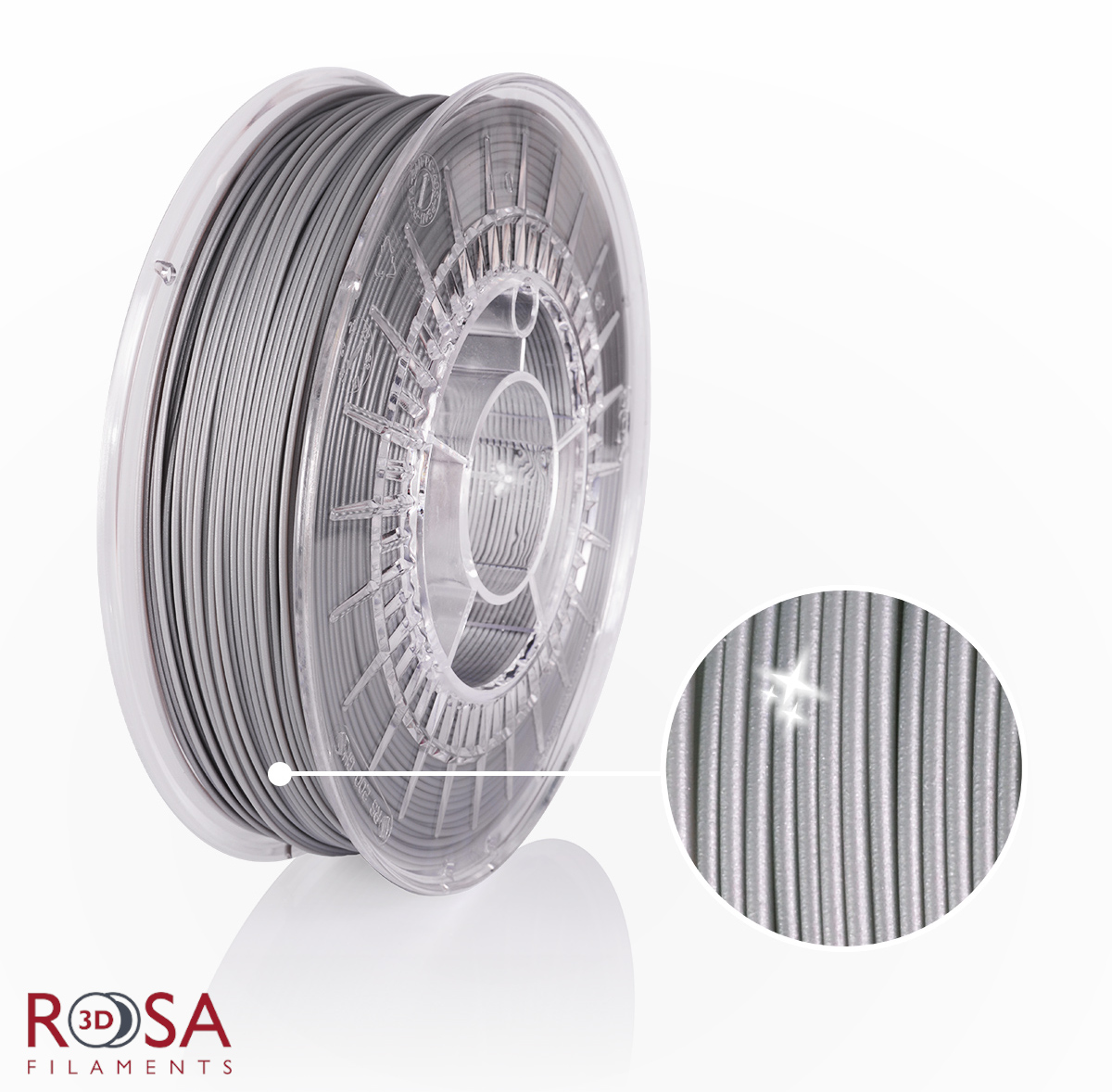 rosa 3d filament pla